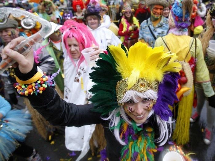 Mardi Gras ở New Orleans