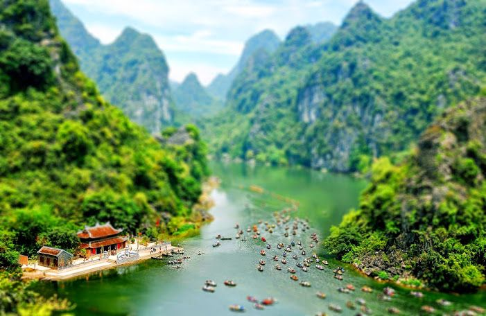 Viet Nam Tilt Shift